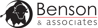Benson & Associates Buffalo Head Logo