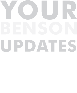Your Benson Updates